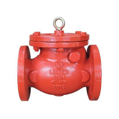 SWING CHECK VALVE, FLANGED ENDS